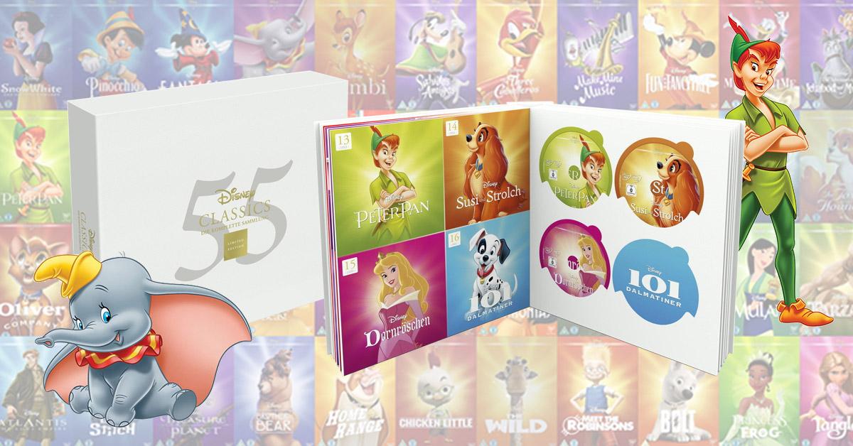 Disney Classics Die Komplette Sammlung Limited Edition 55 Discs