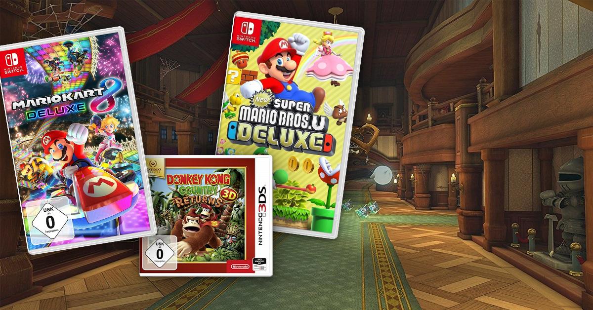 Abenteuer und Spielspaß mit Nintendo!