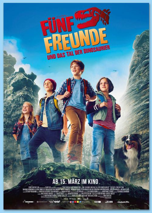 Fünf Freunde und das Tal der Dinosaurier - Plakat