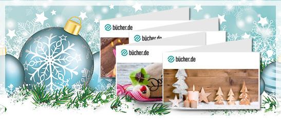 bücher.de Geschenkgutscheine