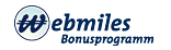 webmiles Bonusprogramm