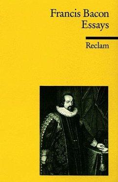 Essays oder praktische und moralische Ratschläge - Bacon, Francis