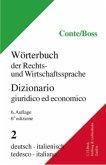 Wörterbuch der Rechts- und Wirtschaftssprache, Italienisch, 2 Bde.