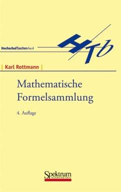 Mathematische Formelsammlung - Rottmann, Karl