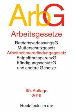 Arbeitsgesetze (ArbG) 84. Auflage