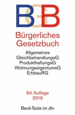 BGB Bürgerliches Gesetzbuch [75. Auflage 2015]