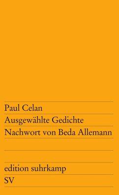 Ausgewählte Gedichte - Celan, Paul