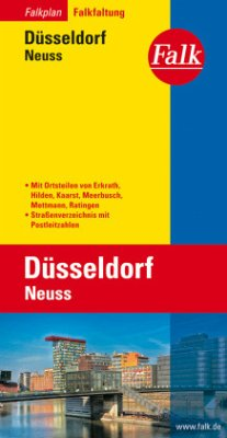 Düsseldorf, Neuss, Falkfaltung/Falk Pläne