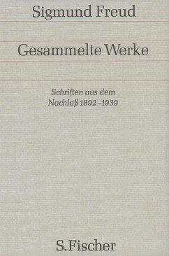 Schriften aus dem Nachlaß 1892-1938 - Freud, Sigmund