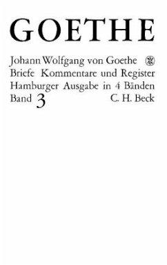 Die Briefe der Jahre 1805-1821 - Goethe, Johann Wolfgang von