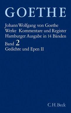 Gedichte und Epen II - Goethe, Johann Wolfgang von