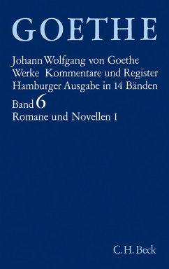 Romane und Novellen I - Goethe, Johann Wolfgang von