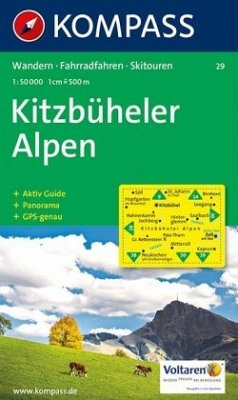 Kompass Karte Kitzbüheler Alpen