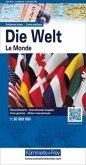 Kümmerly+Frey Karte Die Welt, Politische Karte, 1 : 30 Mio.; The World, Political Map, 1 : 30 Mio.; Le Monde, Carte poli