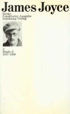 Briefe / Werke 4, Tl.2 - Joyce, James