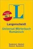 Langenscheidt Universal-Wörterbuch Rumänisch - Buch