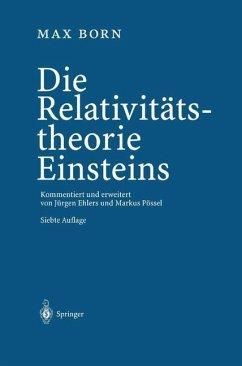 Die Relativitätstheorie Einsteins - Born, Max