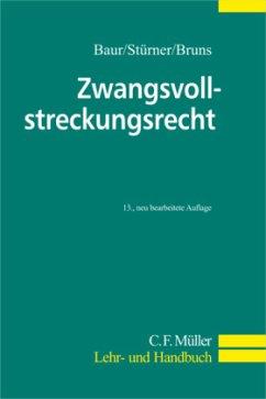 Zwangsvollstreckungrecht - Baur, Fritz; Stürner, Rolf; Bruns, Alexander
