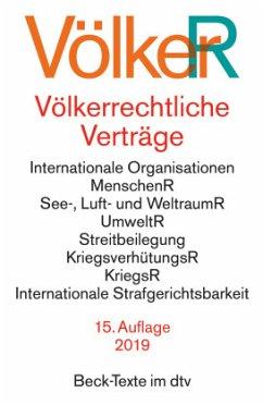 Völkerrechtliche Verträge - Dörr, Oliver (Hrsg.)
