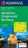 Kompass Karte Nördlicher Steigerwald, Bamberg