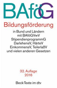 BAföG Bildungsförderung - Ramsauer, Ulrich