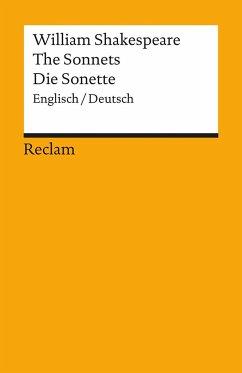 Die Sonette / The Sonnets - Shakespeare, William
