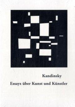 Essays über Kunst und Künstler - Kandinsky, Wassily