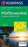 Kompass Karte Pfaffenwinkel, Schongau-Weilheim i. OB
