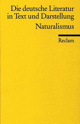 Die deutsche Literatur 12 / Naturalismus
