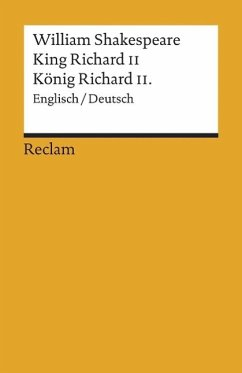 König Richard II. / King Richard II - Shakespeare, William