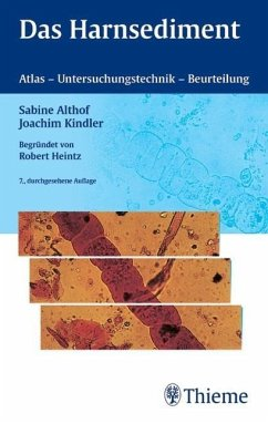 Das Harnsediment - Althof, Sabine; Kindler, Joachim