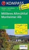 Kompass Karte Mittleres Altmühltal, Monheimer Alb