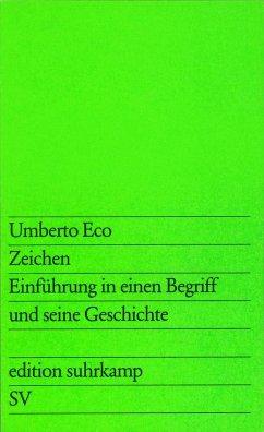 Zeichen - Eco, Umberto