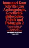 Schriften zur Anthropologie II, Geschichtsphilosophie, Politik und Pädagogik. Register zur Werkausgabe