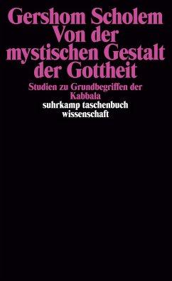 Von der mystischen Gestalt der Gottheit - Scholem, Gershom
