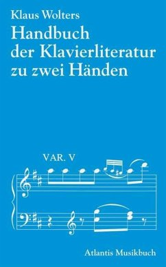 Handbuch der Klavierliteratur zu zwei Händen