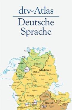 dtv - Atlas Deutsche Sprache - König, Werner