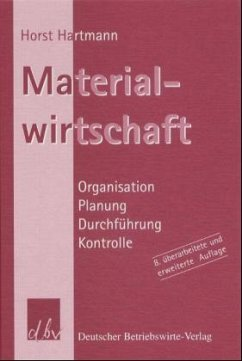Materialwirtschaft - Hartmann, Horst