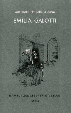 Hamburger Lesehefte (149). Emilia Galotti - Lessing, Gotthold Ephraim
