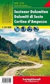Freytag & Berndt Wander-, Rad- und Freizeitkarte Sextener Dolomiten, Cortina d' Ampezzo; Dolomiti di Sesto, Cortina d' A