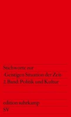 Stichworte zur 'Geistigen Situation der Zeit', in 2 Bdn.