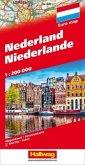 Niederlande; Nederland; Netherlands; Pays-Bas/Hallwag Straßenkarten