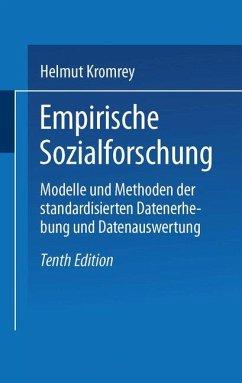 Empirische Sozialforschung - Kromrey, Helmut