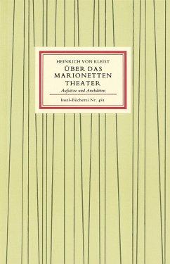 Über das Marionettentheater - Kleist, Heinrich von