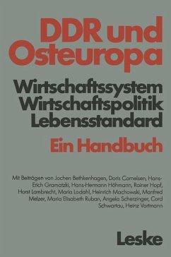 DDR und Osteuropa - Bethkenhagen, Jochen