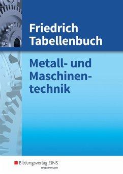 Friedrich Tabellenbuch - Barthel, Maria; Mogilowski, Werner; Rottbacher, Herbert; Scheurmann, Martin; Wiens, Eckhard