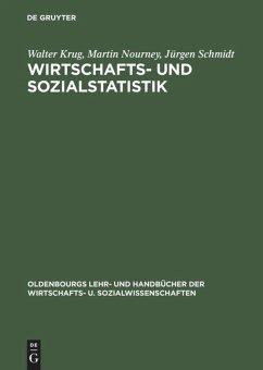 Wirtschafts- und Sozialstatistik - Krug, Walter; Nourney, Martin; Schmidt, Jürgen