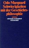 Schwierigkeiten mit der Geschichtsphilosophie