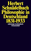 Philosophie in Deutschland 1831 - 1933