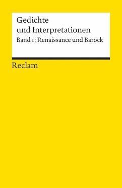 Gedichte und Interpretationen 1. Renaissance un...